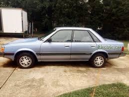 subaru leone hatchback 4wd 5 speed no rust 1986 subaru gl wagon
