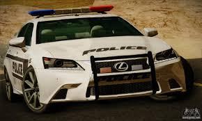 lexus f series is lexus gs350 f sport series iv police 2013 for gta san andreas