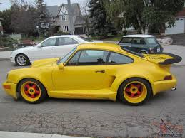 porsche 930 turbo wide body 84 94 porsche twin turbo c 2 rs widebody 750 hp 1 1 made maurice smith