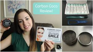 carbon coco teeth whitening review youtube