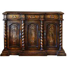 old world dining room furniture hand painted dining room buffet