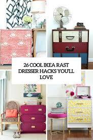 Ikea Hack Dresser by 26 Cool Ikea Rast Dresser Hacks You U0027ll Love Digsdigs