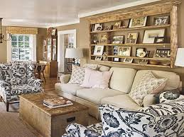 Cottage Style Living Rooms Home Design Ideas - Cottage style family room