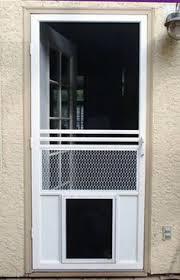 Sliding Glass Patio Storm Doors Dog Door Sliding Patio Door High Performance Pet Screen Door For