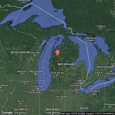 Map Of Wisconsin And Michigan by Fishing On Crystal Lake In Northern Michigan Usa Today