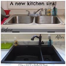 install new kitchen faucet everything and a new kitchen sink a guy a and a really