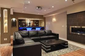 Basement Living Room Ideas 21 Stunning Contemporary Basement Designs