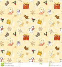 and gold christmas wrapping paper gold child christmas wrapping paper stock illustration