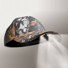 powercap 25 10 camo blaze led lighted hats mossy oak infinity