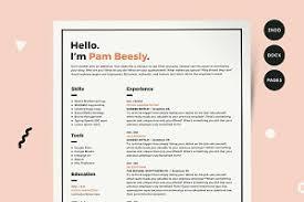 Resume Creative Resume Templates Creative Market