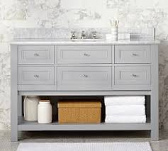 Bathroom Vanities  Sink Consoles Pottery Barn - Bathroom sinks and vanities