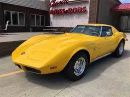 1973 chevy corvette for sale 1968 to 1973 chevrolet corvette for sale on classiccars com 368