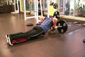 Bench Barbell Row 29 Things To Do With A Barbell In The Corner Straight To The Bar