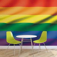 Rainbow Pride Flag Flag Rainbow Pride Photo Wallpaper Mural 491wm Maps