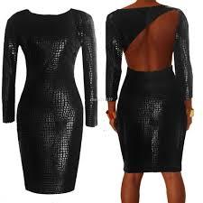 big women dress plus size black plus size long sleeve bandage