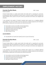 impressive it resume template australia for teenage resume