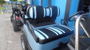club car precedent golf cart max5 rear flip seat kit extreme front