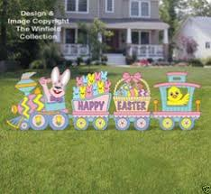 Metal Easter Yard Decorations by Easter Yard Art Easter Yard Decor Easter Bunny By Creativchick