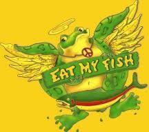 bullfrog fish farm eat fish