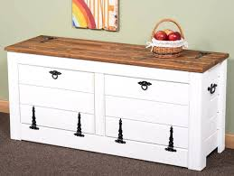 White Wood Storage Bench Shoe Storage Bench With Seat Diy Wooden Storage Bench Seat Indoors