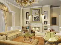 Shown Elegant With Classic Living Room Interior Design Classic - Interior design classic style
