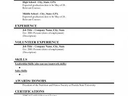 resume format with experience interesting student resume format 2 high school samples with no download student resume format