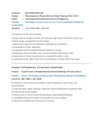 Sample Project List For Resume by Raja Kumar Resume Senior Civil Engineer