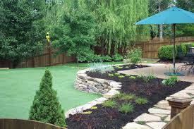 backyards beautiful putting greens in backyard modern backyard