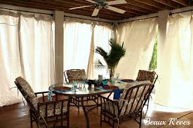outdoors curtains patio