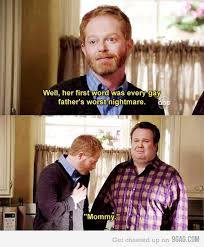Modern Family Memes - every gay father s worst nightmare modern family modern and tvs