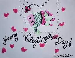 fish valentines handprint fish s day craft handprint