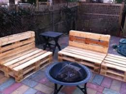 pallet patio furniture recycled pallet ideas