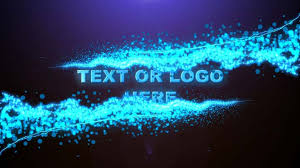 text u0026 logo animation free after effects template