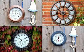 Garden Wall Clocks by The Best Outdoor Clocks Interiors