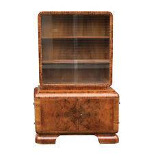 Walnut Cabinet Art Deco Cabinet Ebay