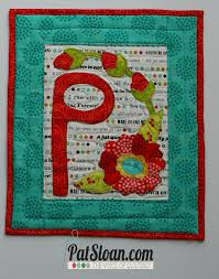 sewing letter templates pat sloan s quiltershome pat sloan s free pattern page pat sloan letter p pattern