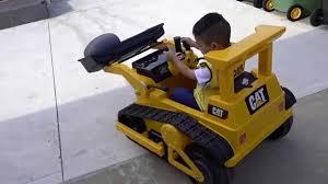 backyard bulldozer electric ride on car fun kids building
