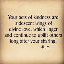 wedding wishes rumi your acts of kindness are iridescent wings of which