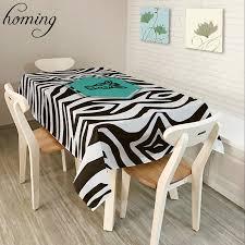 online get cheap black white tablecloth aliexpress com alibaba
