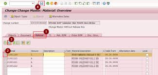 Sap Material Master Tables by How To Delete Material Revision Level In Sap