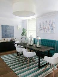 dining table high back bench high back couch at dining table to create cozy booth effect design