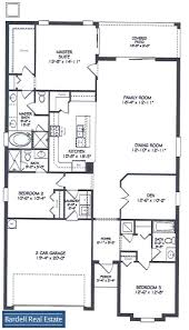 Floor Plan With Elevation by Country Club Floor Plans At Champions Gate Orlando Florida