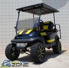 club car precedent golf cart electric lifted