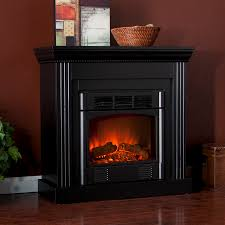 Black Electric Fireplace Martin U2122 Bastrop Convertible Electric Fireplace