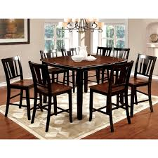 furniture of america betsy jane 9 piece country style counter