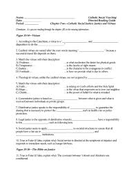directed reading worksheet ave maria press
