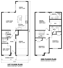 Custom House Designs by 56 2 Story Home Plans Home Intended For Modern Small Two Story