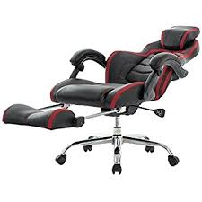 Recliner Gaming Chairs Viva Office Fashionable High Back Bonded Leather Racing