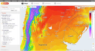 Terrain Map Of Usa by Imaps Interactive Solar Potenial Maps Solargis