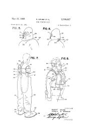 patent us2709667 fire fighter suit google patents